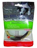 Twistix N-Bone Puppy Teething Ring Chicken Flavor, 34 g