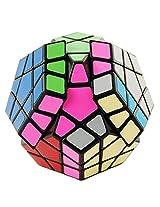 Lanlan Black Megaminx Puzzle Speed Cube