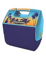 Playmate Elite Blue/Tropical Sunset 16 Qt Personal Cooler 16 quart