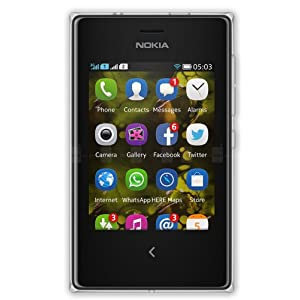 Nokia Asha 503 (Dual SIM, Black)