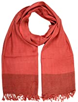 Shopatplaces Tehri Garhwal Stole From Kullu In Folly Red - CKHS4SP1