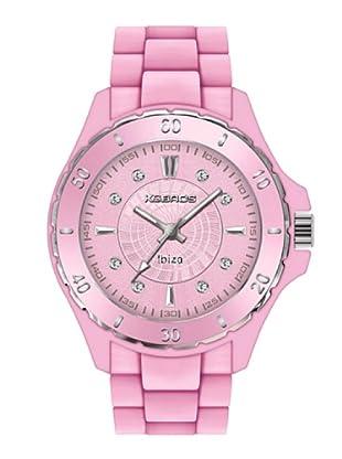 K&BROS 9551-7 / Reloj de Señora con correa de caucho rosa