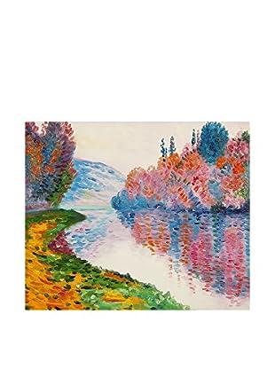 Arte Dal Mondo Ölgemälde auf Leinwand Monet Rive Della Senna