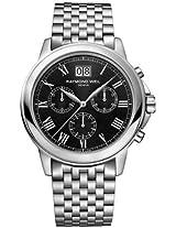 Raymond Weil Analogue Black Dial Men's Watch - 4476-ST-00200