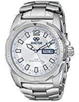 REACTOR Men's 49002 Fission Silver Sunray Dial Watch (Amazon Exclusive)