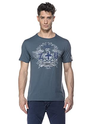 Zu-Elements Camiseta Percival (Gris Oscuro)