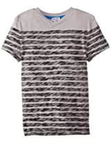 Splendid Little Boys' Classic Stripe Vneck Top