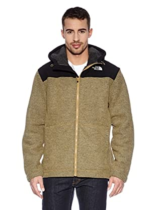 Th North Face Giacca Cappuccio M Rugged Zermatt Full Zip (Marrone)