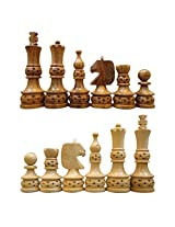 craft store Wooden Artistic Chess Set 4""