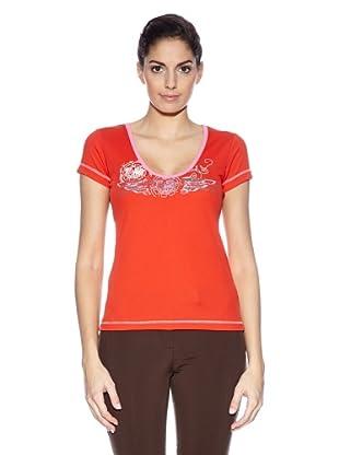 Northland Professional T-Shirt Kuba Ls (Rosso)
