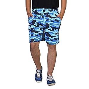 Clifton Men Army Printed Shorts