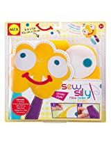 ALEX Toys Kid's Sew Silly Pillow Craft Kit with Monster Designs Assorted Colors