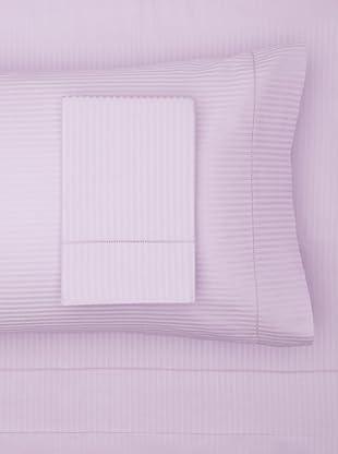 300 Thread Count Satin Stripe Sheet Set (Lilac)
