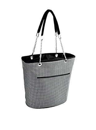 Picnic at Ascot Insulated Cooler Tote, Houndstooth
