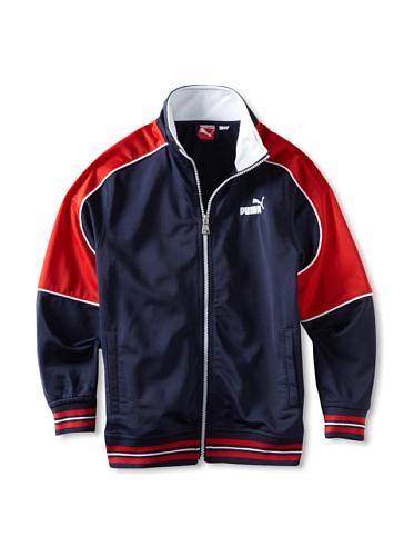 Puma Boys 8-20 USA Tricot Jacket (Blue)