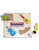 Skillofun Junior Identification Trays - Western Musical Instuments