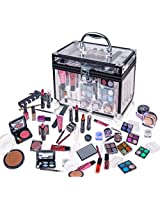 SHANY Carry All Trunk Professional Makeup Kit - Eyeshadow Pedicure manicure - Gift Set