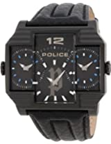 Police Analog Black Dial Men's Watch - PL13088JSB/02