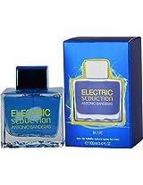 Antonio Banderas Electric Seduction Blue Eau De Toilettes Spray For Men, 3.4 Ounce