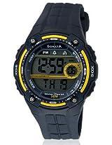 Sonata Super Fibre Digital Grey Dial Men's Watch - NF7949PP02J