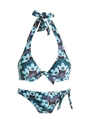 ESPRIT Bodywear Damen Bikini Z1116/Maui Beach Smu (Blau (55))