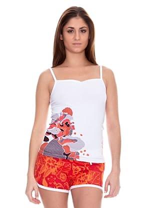 John Smith Camiseta Tirantes Lucena (Blanco)