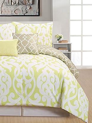 Duck River Textiles Aubry 5-Piece Reversible Comforter Set