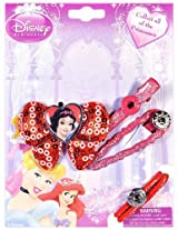 Disney Snow White On Red Bow Hair Accessories