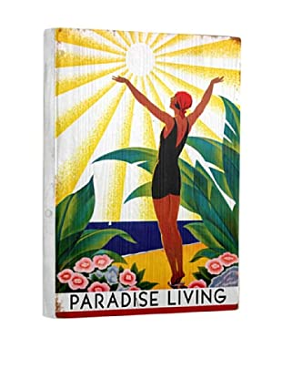 Artehouse Paradise Living Reclaimed Wood Sign