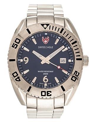 Swiss Eagle Reloj Dive Torpedo azul
