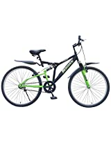 Kross K- 40 26T Single Speed DS Bicycle (Black/Green)
