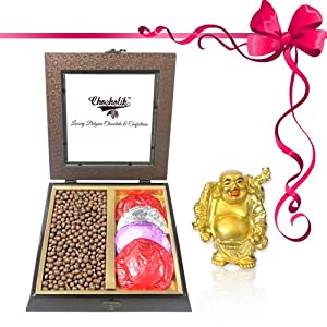Rocking Gift with Milk Butterscotch with Combo - Chocholik Belgium Gifts