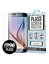 Samsung Galaxy S6 Screen Protector Cover, PLASS Clear HD Full Screen Edge To Edge Unbreakable Shatterproof Screen Cover 1-Pack - Better Than Tempered Glass - MPERO