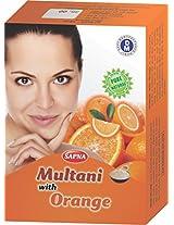 Sapna Multani mitti with orange powder 5X100gm