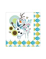 Frozen Fever Luncheon Napkins (16 Pack) Party Supplies