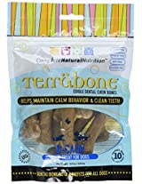 Terrabone B-Calm Dental Dog Chew Treats - 10 count for dogs 5 to 25 lbs