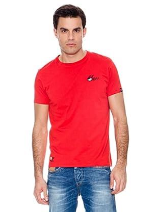 Pepe Jeans London Camiseta Stint (Rojo)