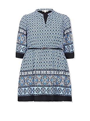 YUMI Curves Vestido Azul Marino ES 46 (UK 18)