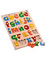 Skillofun Lower Alphabets Shape Tray (With Knobs)