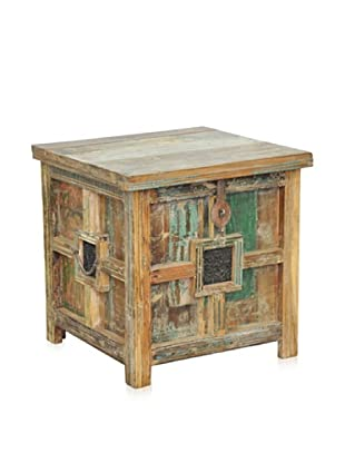 Classic Home Avalon Storage Chest, Lime Wash