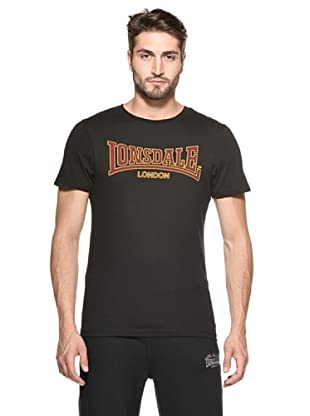 Lonsdale Camiseta Huainan (Negro)