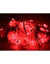 ASCENSION Rice lights Serial bulb decoration light for diwali navratra christmas-Red