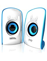 Zebronics Pop 2.0 Multimedia speaker (Blue)