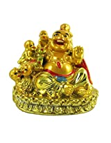 Varanasi Enterprises feng shui laughing buddha with children for health, wealth and happiness
