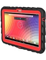 Gumdrop Drop Tech Case for Google Nexus 10-Inch - Black/Red (DT-NEXUS10-BLK-RED)