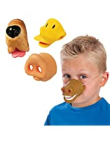 Farm Faces Kids Animal Noses -Costume Accessory Party Favors - Set of 4