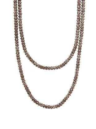 Lola Casademunt Collar Brillantitos Metalizado Única