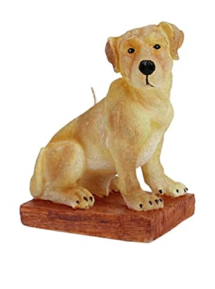 D.L. & Co. Labrador Hand-Painted Candle