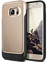 Galaxy S7 Case, Caseology® [Vault Series] Rugged Slim Cover [Gold] [Active Armor] for Samsung Galaxy S7 (2016) - Gold