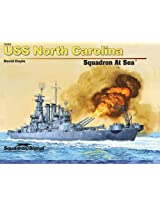 Squadron Signal Publications USS North Carolina Squadron at Sea Book